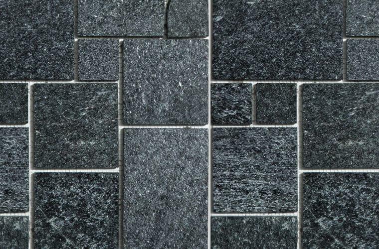 Black Qr Unik 300x300 mm Mosaik | Aitokivi