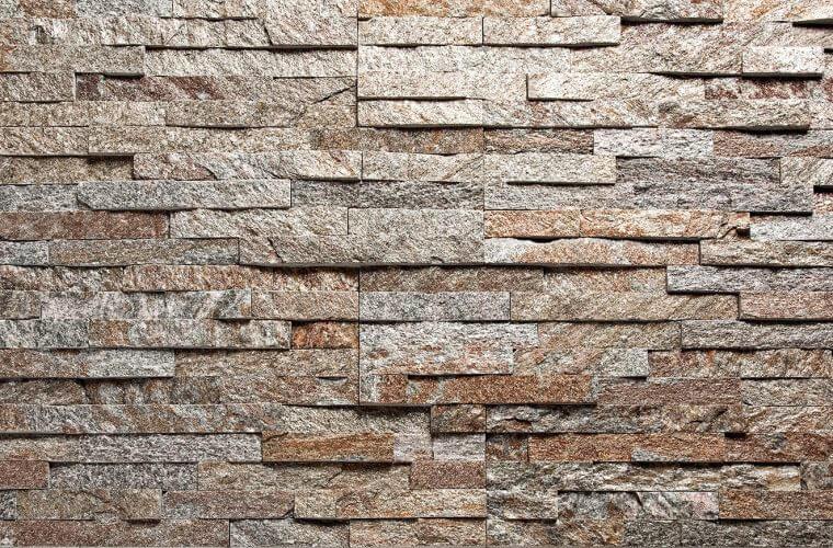 Brown Quartzite 150x600mm Stone cladding panels | Aitokivi