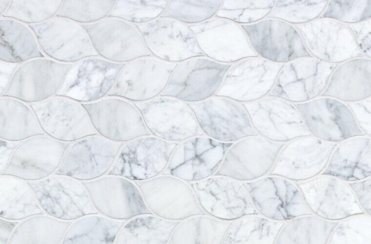 Carrara Leaf UUTUUS 2021 300x300 mm Mosaiikit | Aitokivi