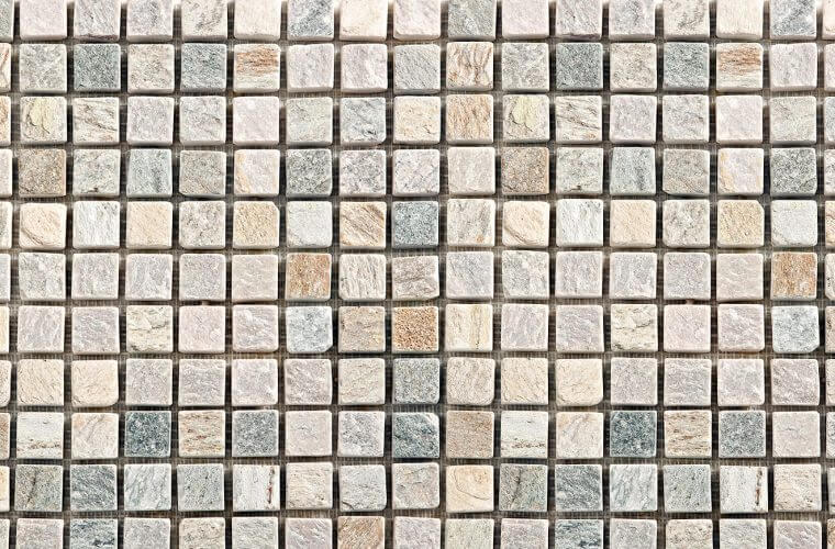 Sand & Grey Mosaic 300x300 mm мозаичной | Aitokivi