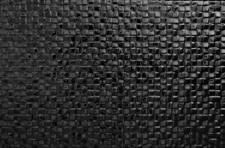 Tessera Black 250x500 mm Design tiles | Aitokivi