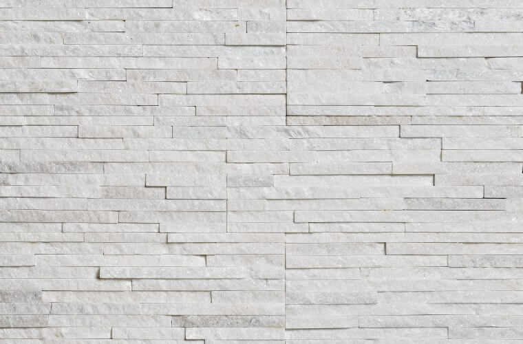 White Quartzite Water Wall 150x600mm Beklädnadssten | Aitokivi